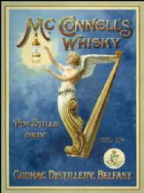 McConnell's Whiskey Metal Wall Sign (2 sizes)